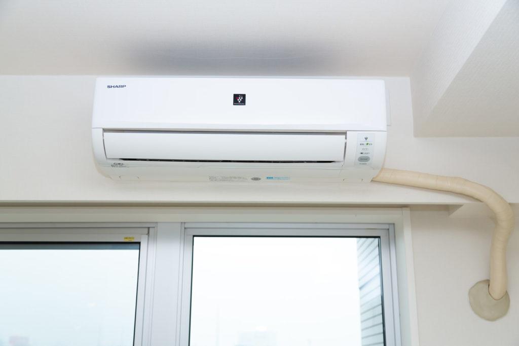 エアコンと配管